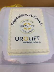 Bayside Urologist Dr. Riccardo Ricciardi Designated a UroLift® Center of Excellence 4