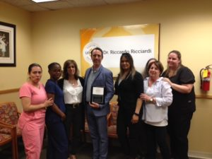 Bayside Urologist Dr. Riccardo Ricciardi Designated a UroLift® Center of Excellence 3